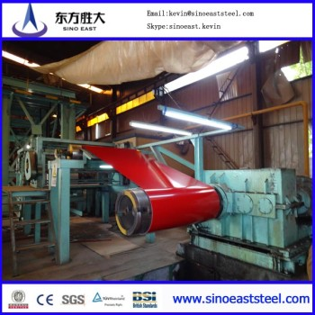 PPGI steel coil/Prepainted galvanized Steel Coil (PPGI/PPGL) / Color Coated Steel/CGCC/Roofing steel
