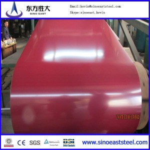Best price Prepainted galvanized steel coil