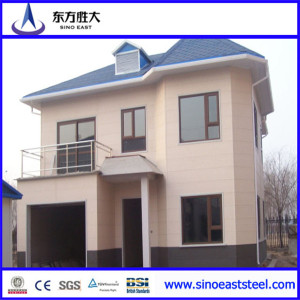 prefabricated light steel frame house
