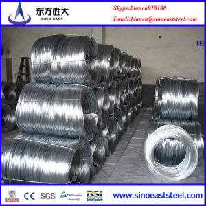 Cable / alambre de acero galvanizado para la construcción