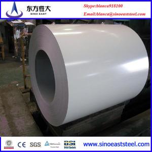 Láminas de Acero  Color  Blanco (PPGI) Lámina Prepintada