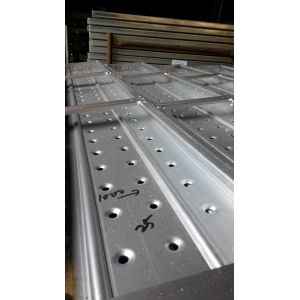 Hot dipped galvanized steel catwalk / scaffolding plank