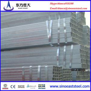Tubo de acero galvanizado rectangular