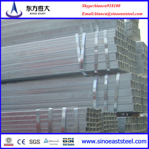 Tubo de acero galvanizado rectangular tubo de acero for Casetas de acero galvanizado