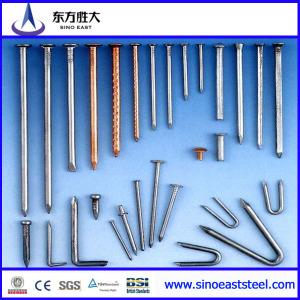 Clavos de acero al carbono galvanizado