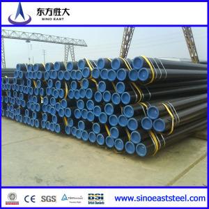 ST44 tubo de acero carbono sin costura