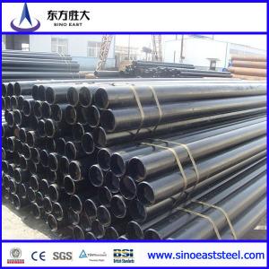 ASTM A53 Tubo tubería de acero carbono sin costura para oleoducto  y agua