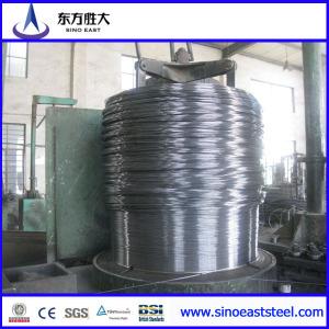 Alambre de acero con zinc recubrimiento