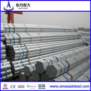 Tubo de acero galvanizado para conducciones GI