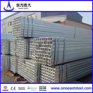 Tubería rectangular de pre'galvanizado laminado en frío
