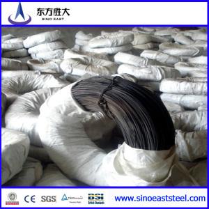Alambre de acero galvanizado de bajo carbono para cables de blindaje