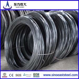 Oval de alambre de acero galvanizado