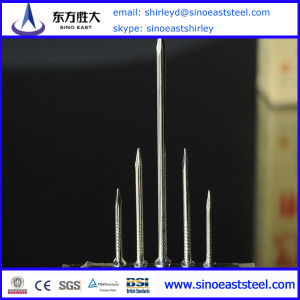 4mm Polished Finish Common Iron Nail 25KG Carton Box Factory