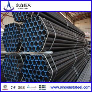 ASTM A106/A53 Tubo de acero carbono sin costura