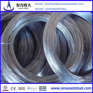 BWG 16 hot-dip gal steel wire factory in China