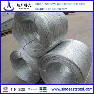 Q195 13 gauge hot dipped galvanized steel wire manufacturer in China