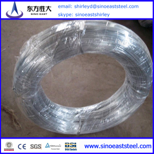 hot dip galvnaized iron wire factory price in China