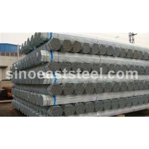 Tubos galvanizados sch80/40/60