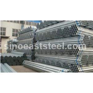 Tubo de acero pre-galvanizado desde Tianjin fabricas