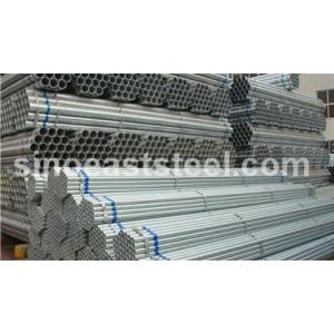 MS tubos de aceros pre-galvanizados decorativos