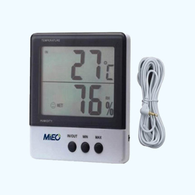 Hygro-thermometer with Large Screen HH620