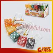Dice candy lollipop