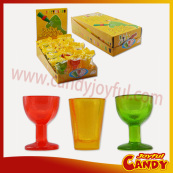 Christmas decorative glass candy