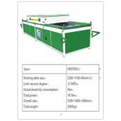 PVC vacuum laminate machine