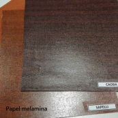 Wood-grain melamine paper