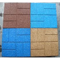 Top-brick EPDM rubber flooring tile