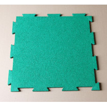 Interlocking rubber mat in different colors