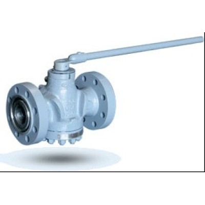 Cast lubricated pressure balance plug valve
