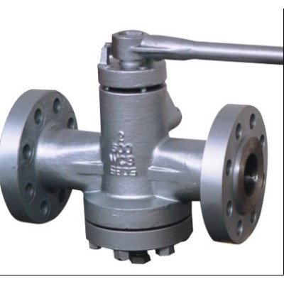 Inverted Lubricated Plug Valve