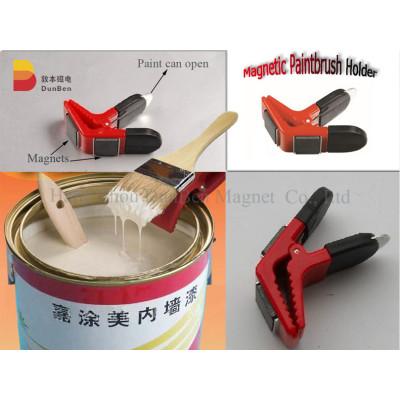 magnetic paintbrush holder/magnetic tool holder