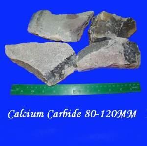 Carboneto de cálcio (tamanho: 80-120mm)
