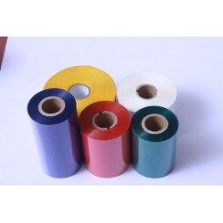 Barcode ribbon compatible thermal transfer ribbon Premium wax,wax/resin,resin