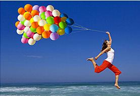 Helium Balloon tank