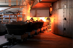 What is the production process of calcium carbide lump?
