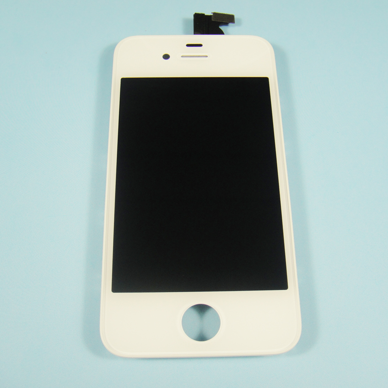 Replacement LCD Screen with Touch Panel White color for iphone 4S