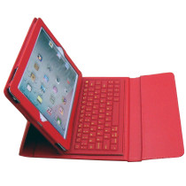 Leather case with keyboard for iPad 2 and iPad 3