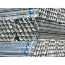 Galvanized steel pipe with accessories