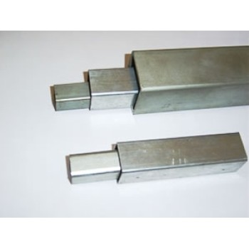 HOT DIPPED SQUARE STEEL TUBE