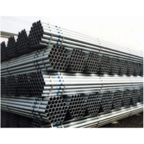 GI ERW Steel Pipe threaded with socket