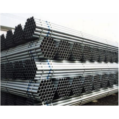 GI ERW Steel Pipe threaded with socket