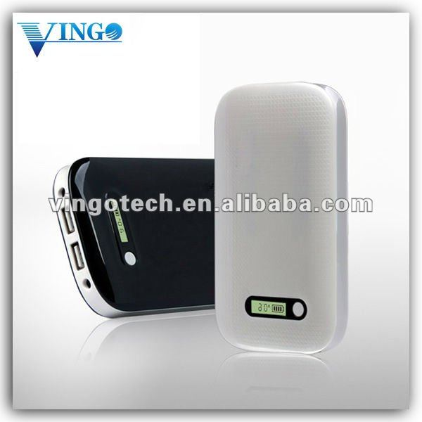No.1 VGO-001 power bank for Ipad, Iphone and smart phone, 10000mAh capacity, 9V 2.1A out put, mobile