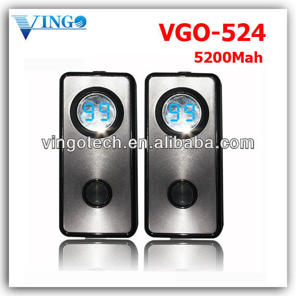 Private mold product Vgo-524 5200mah new coming capacity wholesale power bank