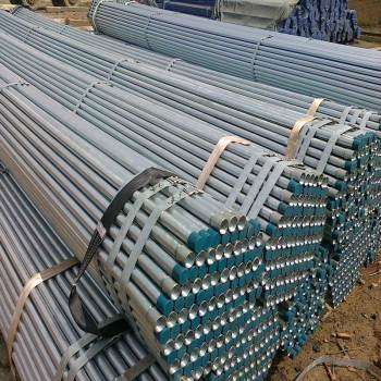 ASTM A 53 galvanized threading  pipe
