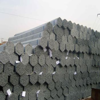 BS1387 galvanized steel pipe/tube