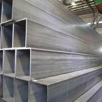 hot rolled galvanized rectangular steel tube