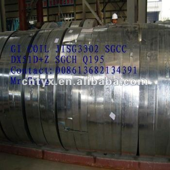 galvanize steel coil in emirates Pass ISO9001:2008;BV in competitive price